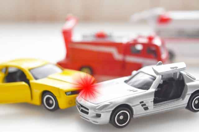 交通事故シーン